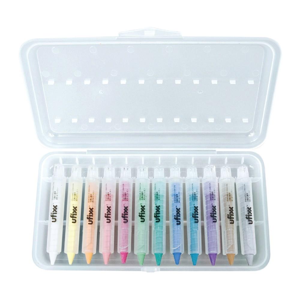 12色水溶性蠟筆