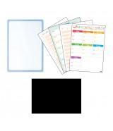 插卡透明白板 (A3) - 有鐵性紙